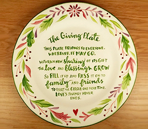 Studio City The Giving Plate