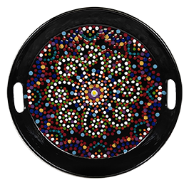 Studio City Mosaic Mandala Tray