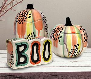 Studio City Drippy Pumpkin Box