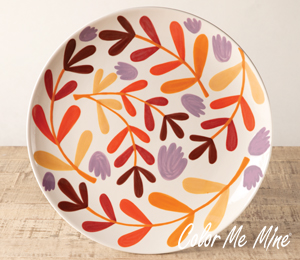 Studio City Fall Floral Charger