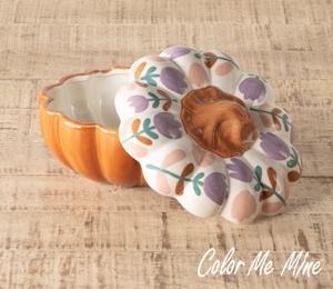 Studio City Floral Pumpkin Box