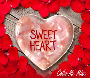 Studio City Candy Heart Plate