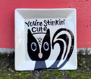 Studio City Raccoon Plate